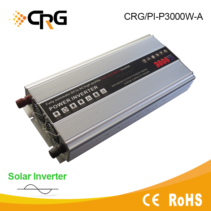 3000W 12v dc 220v ac pure sine wave Car Power Inverter for caravan and recreational vehicles