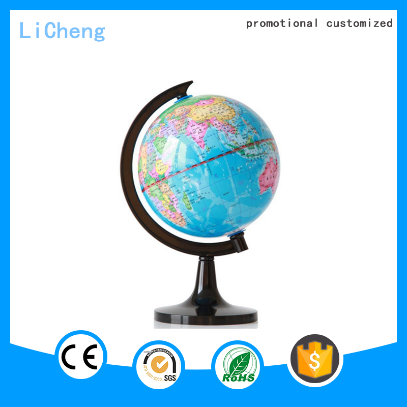 2016 Hot selling promotional Polyresin Antique decorative world globe