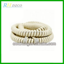 2 wires 4*1 tinsel telephone line cord
