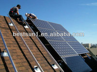 Bestsun Top Sale 2000w tile roof solar mounting system