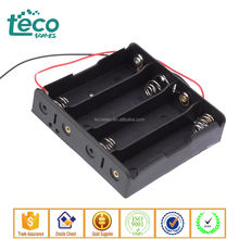 TBH-18650-4B-W Ningbo TECO 4 x 18650 Battery Holder with Wire