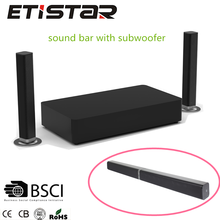 Home theater system tv bluetooth sound bar with subwoofer with USB HD ARC