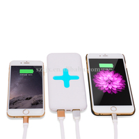 Newest 6000mAh Fast Wireless Charging Charger Universal QI Standard Charging Equipment For Mobile Phones