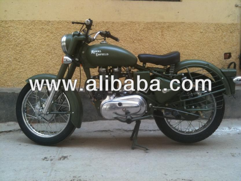 Freshly restored 1965 G2 Vintage Royal enfield in military drab