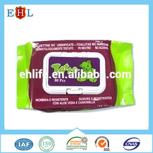 China supplier Wholesale Professional industry cleaning wet wipes