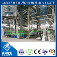 High rotary speed dual lips air ring greenhouse film blowing machinery