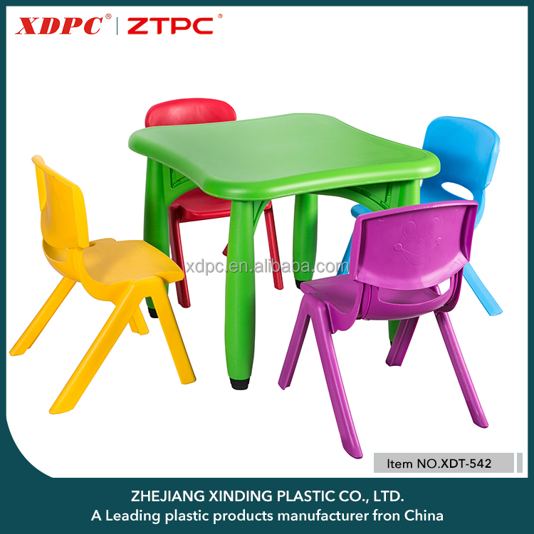 2016 New Competitive Price Kids Plastic Table And Chairs