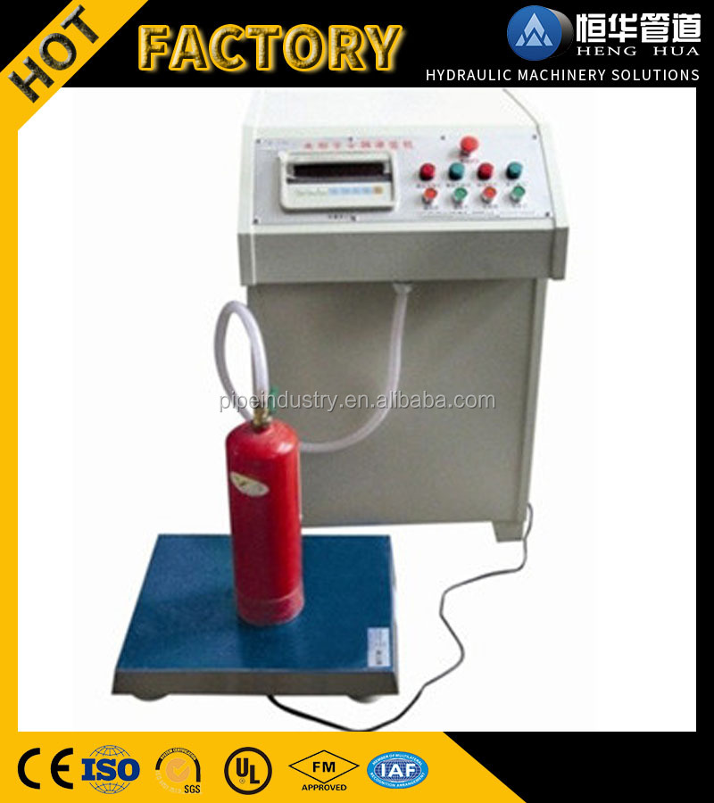 Automatic N2 Nitrogen Filling Machine for fire extinguisher