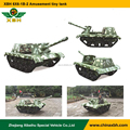 XBH 6X6-1B-2 Amusement tiny tank Track Drive Vehicle entertainment Electronic simulation tank ATV