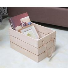 decorative custom made vintage wooden fruit crates