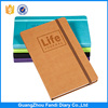 2017 new Customized gift A5 journal diary PU leather cover notebook