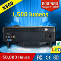 mini portable data show office & school supplier home theater lcd led multimedia light projector cre x300 popular!