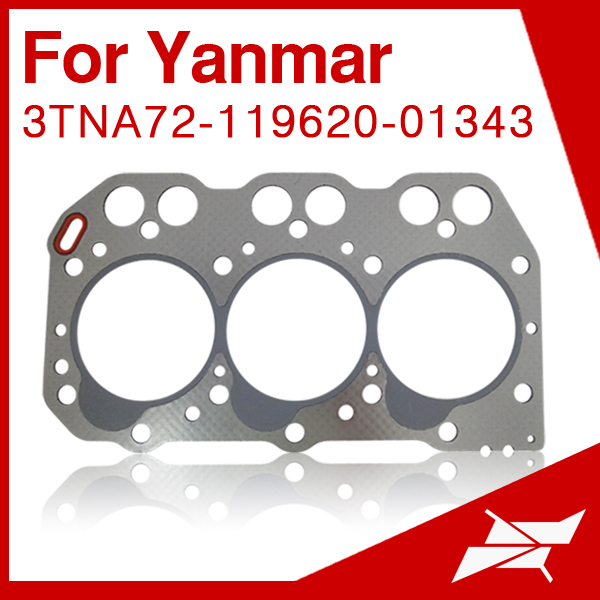 3TNA72 head gasket for yanmar forklift engine parts