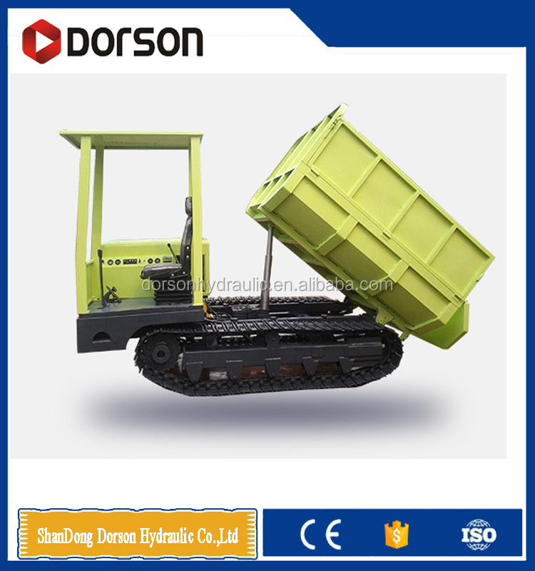 China mini crawler dump truck for sale with 2000kg with low price