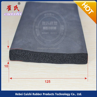 acoustic panel rubber seal ISO approved silide in weather stripping