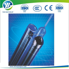 glass vacuum tube for parabolic trough collector/parabolic solar concentrator