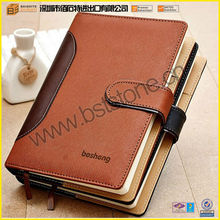 Top Quality Hardcover New Branded Office Writing Pad Design All Kinds Of Custom Leather A4 Notebook For Business Use