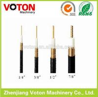 best price 7/8 1/2 feeder cable Low loss coaxial cable RG58 lmr400 cable