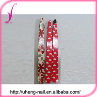 Wholesale china products good eyebrow tweezer with flower design