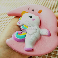 2018 OEM Most Popular slow rising squishy Unicorns on the moon toys