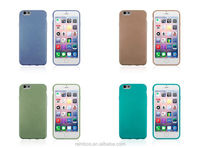 TPU Soft Gel Cover Wire Drawing Cover Case Phone Brushed Case for iPhone 6 4.7