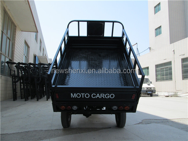 Air Cooled ISO9000 CCC 3 Wheel Cargo Tricycle With Cabin Truck Box Motorized Trike For Adults On Sale