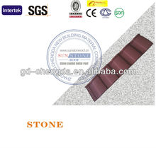 Asphalt Shingles Roofing Materials / Stone Chip Coating Roof
