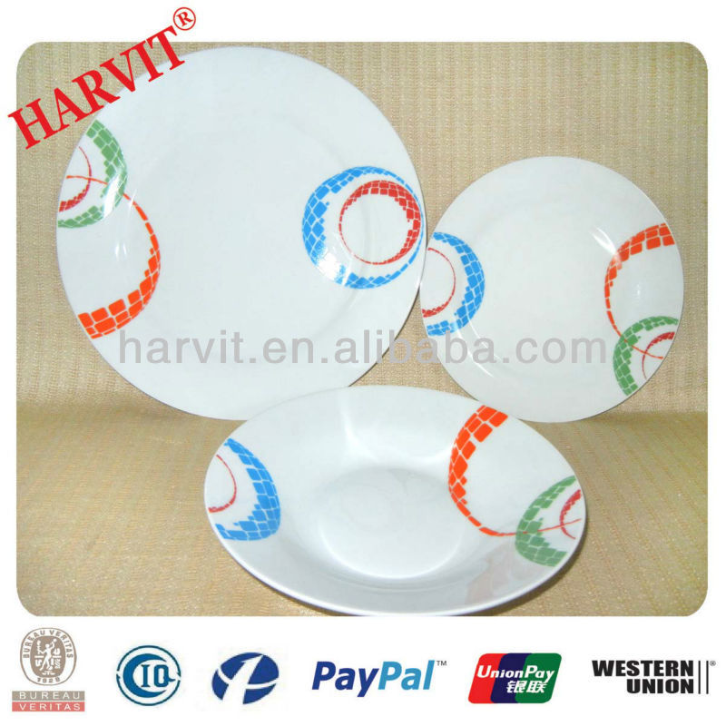 2013 French Style Home and Garden Decorative mini Plate Sets