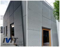 Decorative Roof Cover made of Expanded Metal Mesh
