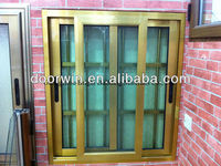 Cheap Aluminum Security Windows with Mosquito net for Africa Market