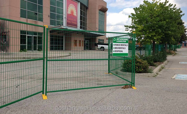 China High Quality Galvanized Canada Temporary Fence Supplier
