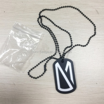Hot sales Customized design metal dog tag with chain