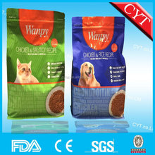 stand up packaging pet food bag