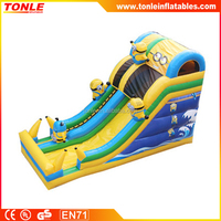 new design most popular Minions Despicable Me Inflatable Slide