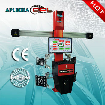 high qaulity !!APL-S80 four post car lift for 3D wheel alignment with CE