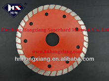 high quality Sintered turbo diamond saw blade for ceramic tile/masonry/stone, size 105mm to 350mm