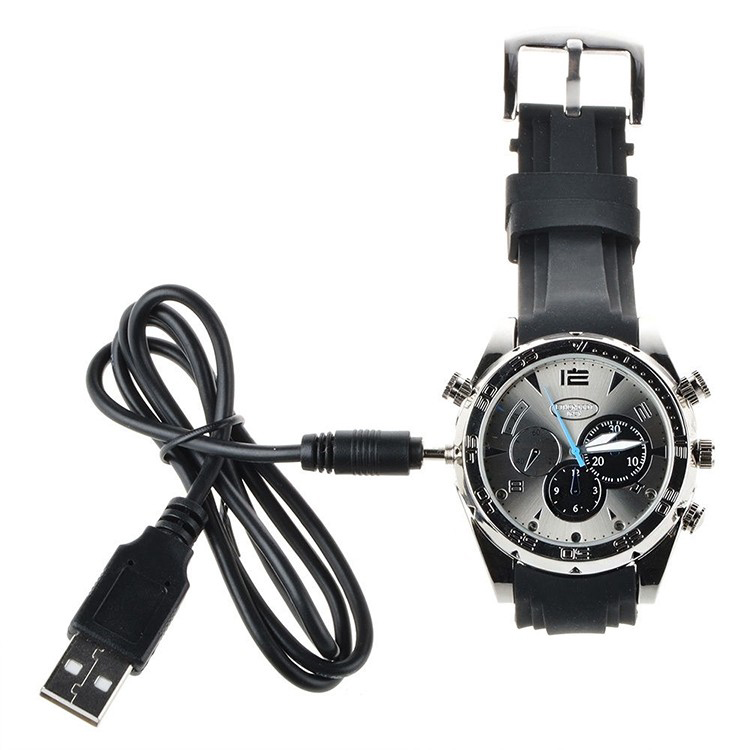 Hidden Camcorder Voice Control Full HD1080P Infrared Small Night Vision Waterproof Watch video Camera