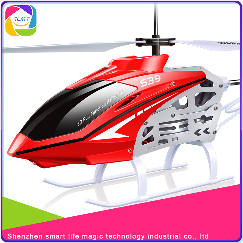 Best sell 3.7V/300mAh Lipo propel rc helicopter s39 with remote control