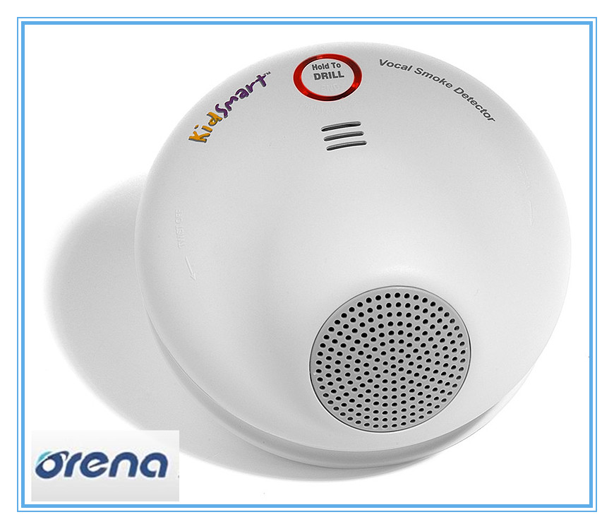 UL listed voice recordable smoke detector