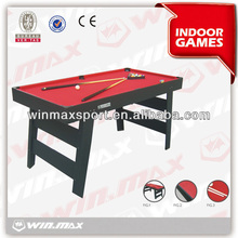 WINMAX brand high quality hot sell family 6ft national pool tables