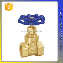 "LINBO-C958Durable professional competitive price easy installation brass ms58 dn100 6 8 4 5"" inch gate valve"