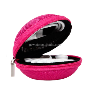 Portable Protection Hard EVA Earphone Case Wired/Bluetooth Headset Earbud Carrying Pouch Lightweight Change Purse Small Hand Bag