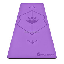 High end Eco-friendly PU luxury exercise yoga mat
