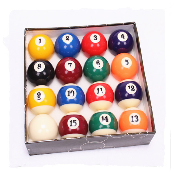 16 Ball Set Pool Billiards Ball
