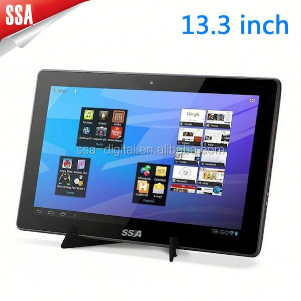 Rockchip p33 13 3 inch android tablet pc 15 inch quad core for 13 inch table