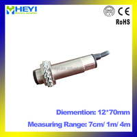 E3F series metal sensor 12*70 mm sensoring distance: 7cm/1m/4m photoelectric sensor