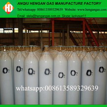 Medical gas equipment type steel cylinder