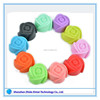 cake decorating multi colors rose 3d silicone molds cakes