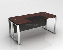 Wood veneer MDF luxury executive office desk,high tech executive office desk