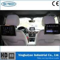 9 inch TFT LCD monitor with touch screen rear back seat screen car entertainment